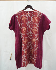 Mini Dress ASKARA Series - Motif Bogor Pisan