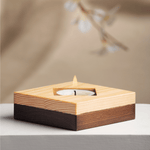 Sama Wooden Diya 1 (set of 2)