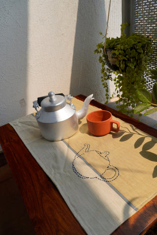 Kettle - Table Mat handcrafted by Oka - Kulture Street
