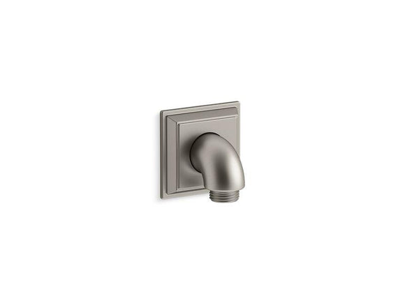 KOHLER 22171-BN Memoirs Stately Wall-Mount Supply Elbow With Check Valve in Vibrant Brushed Nickel