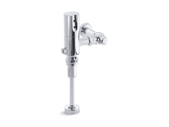 KOHLER 7542-CP Tripoint Exposed Hybrid 1.0 Gpf Flushometer For Urinal Installation in Polished Chrome