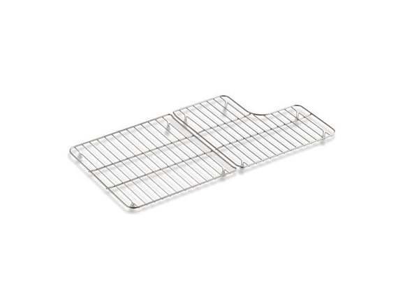 KOHLER 6639-ST Whitehaven Stainless Steel Sink Racks For 36