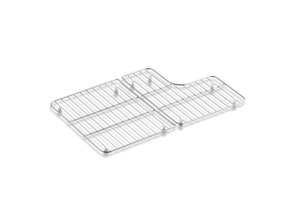 KOHLER 6638-ST Whitehaven Stainless Steel Sink Racks For 30