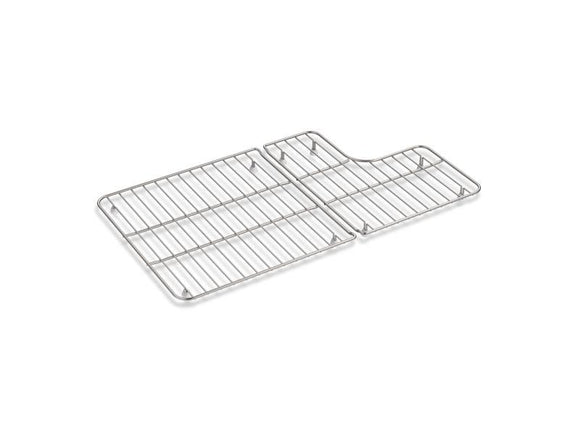 KOHLER 6449-ST Whitehaven Stainless Steel Rack For Whitehaven(R) K-5826/5827 Sinks in Stainless Steel