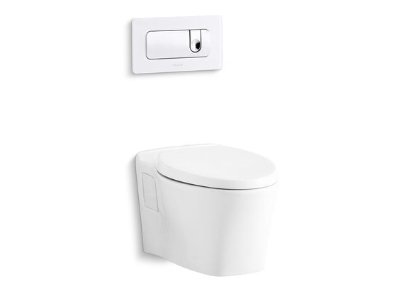 Kallista P70363-00-0 Modern Toilet Seat with Slow Close, Quick Hinge Release