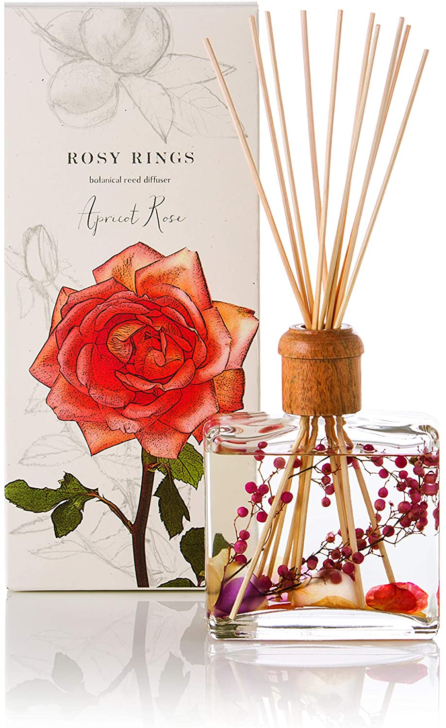 Rosy Rings Apricot Rose Diffuser