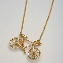 Load image into Gallery viewer, Alex Monroe Bicycle Necklace