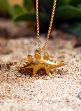 Load image into Gallery viewer, Alex Monroe Stegosaurus Necklace
