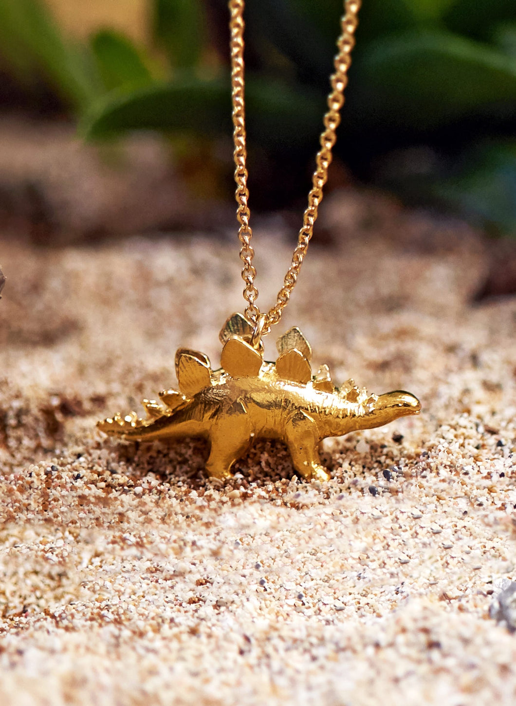 Alex Monroe Stegosaurus Necklace