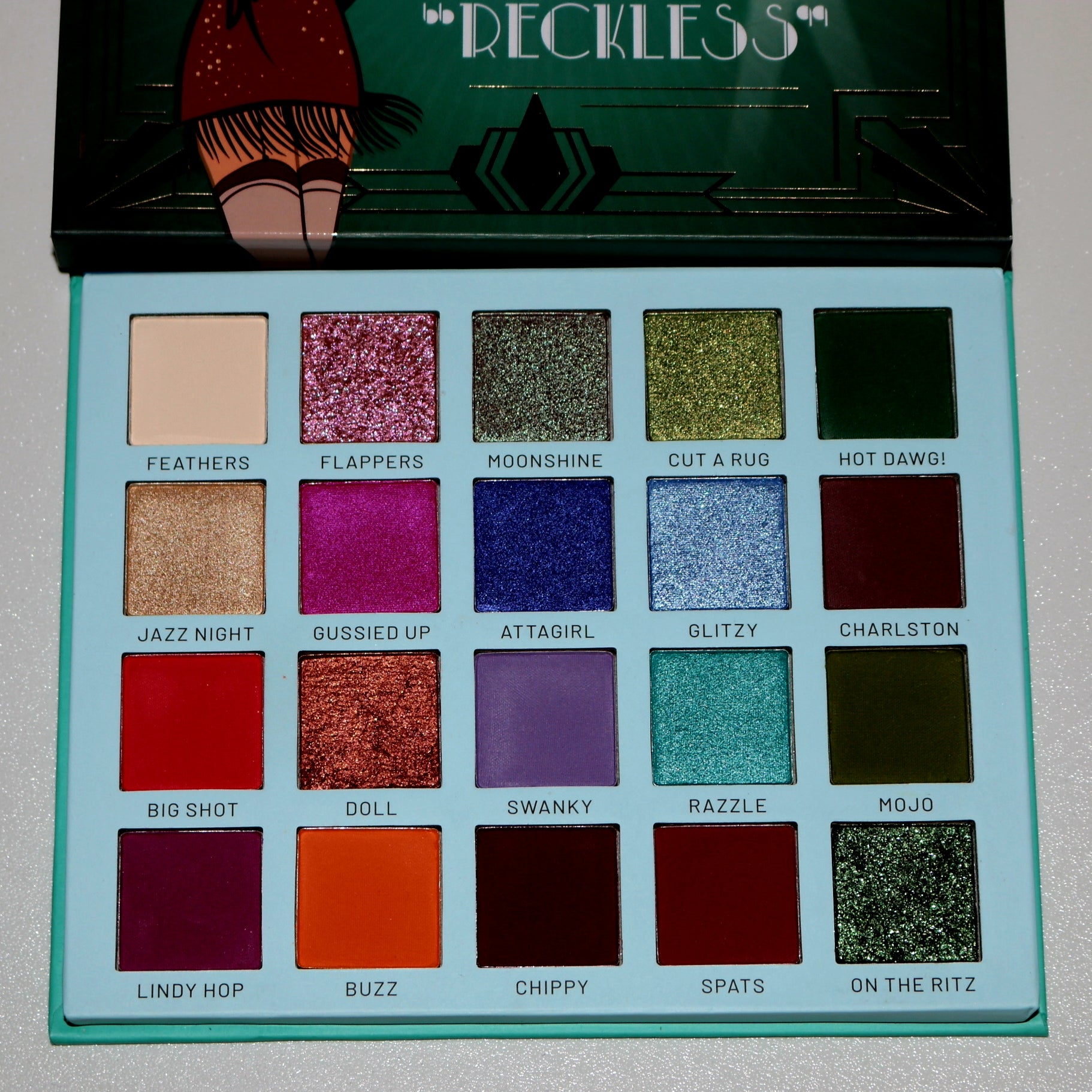 The Roaring 20's Eyeshadow Palette - Reckless