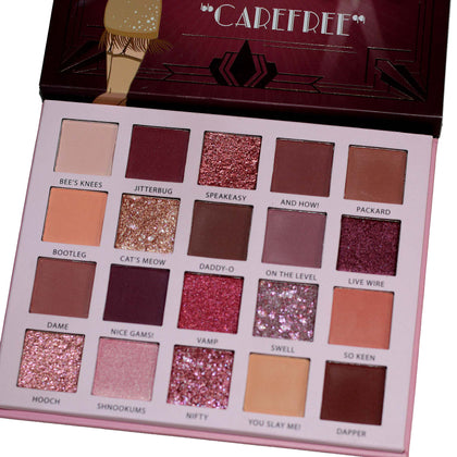 The Roaring 20's Eyeshadow Palette - Carefree