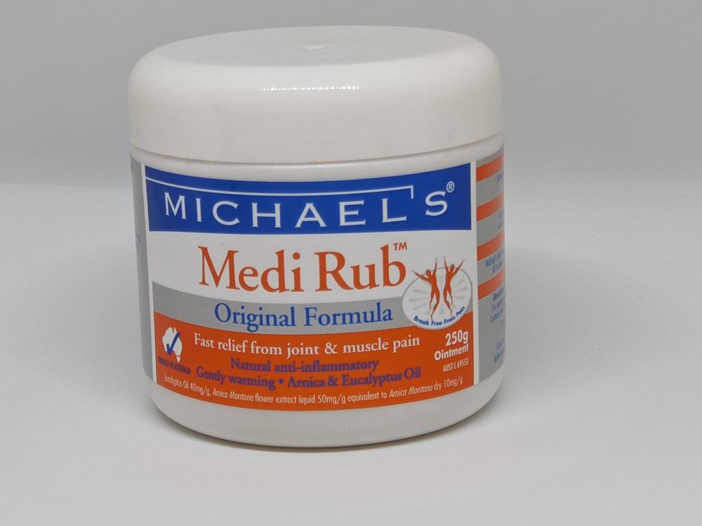 Michael's Medi Rub-250gm
