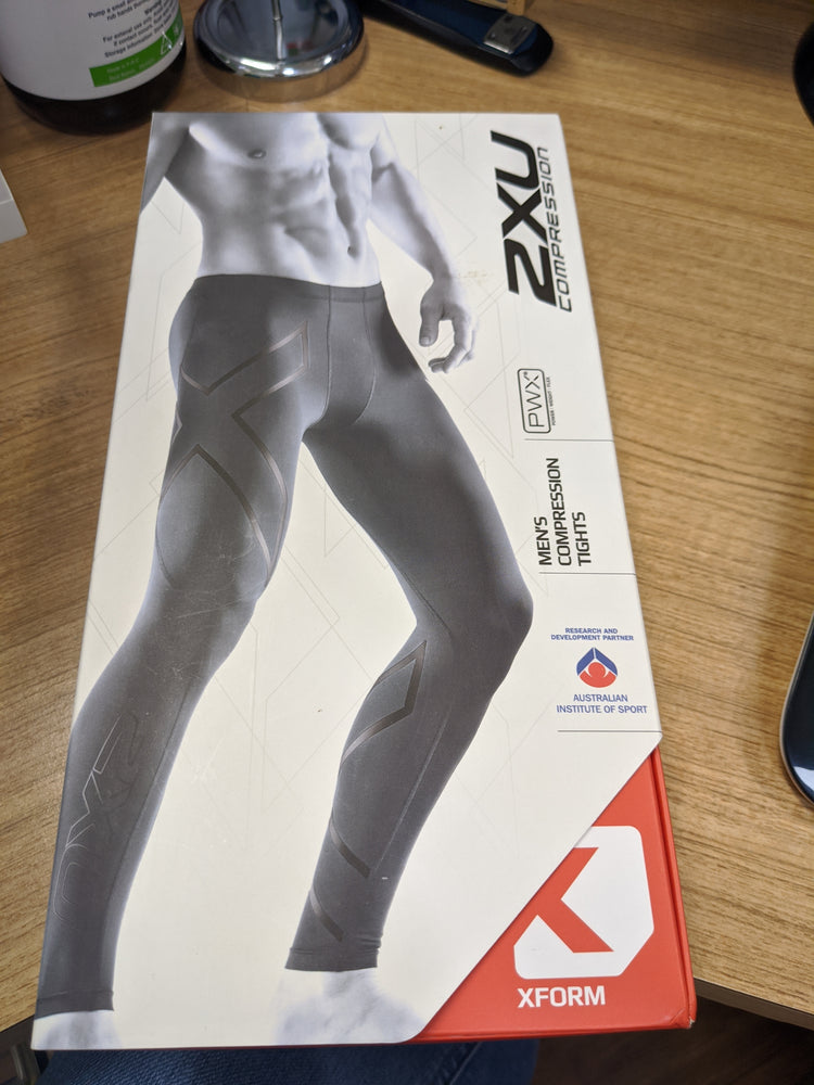 2XU Compression Tights, MENS- NERO