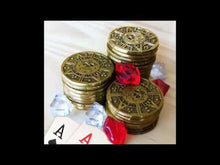 Load and play video in Gallery viewer, *Premium Grade* Pirate Themed Poker Chips Set (250 Coins)