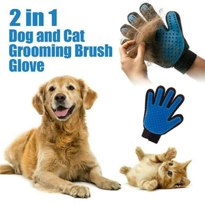 Grooming Pet Glove for Dogs & Cats - Marys Little Mart