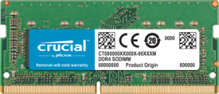Crucial 16GB (1x16GB) DDR4 SODIMM 2400MHz (for Mac)