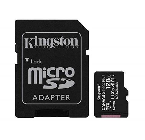 Kingston 128GB V2 MicroSD SDHC SDXC Class10 UHS-I Memory Card
