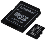 Kingston 32GB V2 MicroSD SDHC SDXC Class10 UHS-I Memory Card