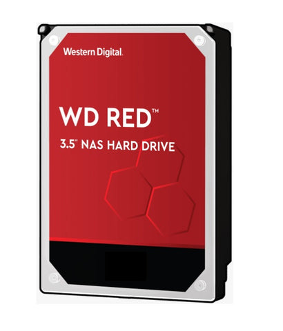 "WD 12TB Red NAS 3.5"" 5400RPM SATA3 HDD"
