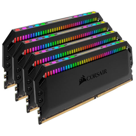 Corsair 64GB (4x16GB) Dominator Platinum RGB DDR4 3600MHz (Black)