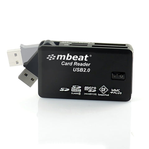 mbeat USB 2.0 All-In-One Card Reader