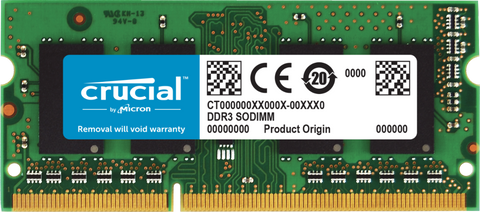 Crucial 4GB (1x4GB) DDR3 SODIMM 1600MHz (for Mac)