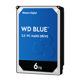 "WD 6TB Blue SATA3 256MB 3.5"" 5400RPM HDD"