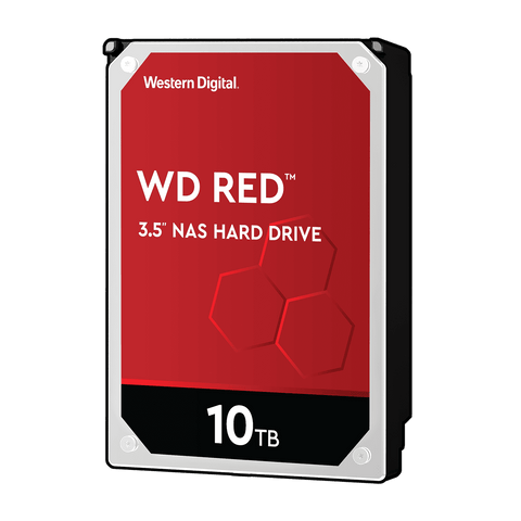 "WD 10TB Red NAS 3.5"" 5400RPM SATA3 HDD"