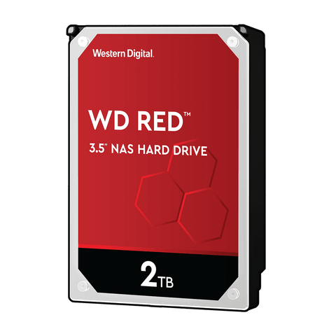 "WD 2TB Red NAS 3.5"" 5400RPM SATA3 HDD"
