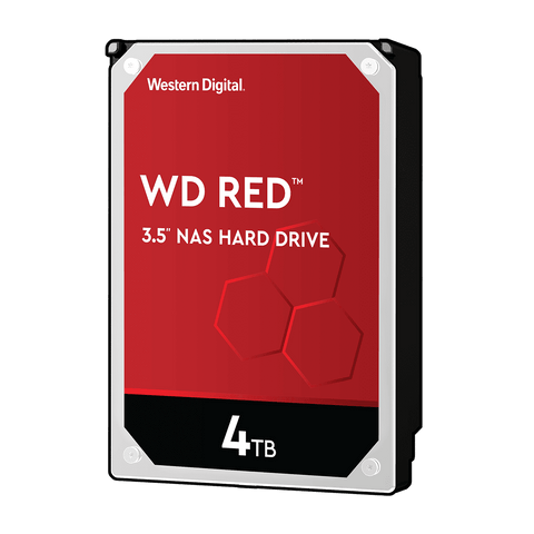 "WD 4TB Red NAS 3.5"" 5400RPM SATA3 HDD"