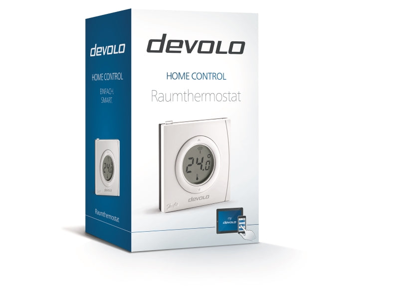Devolo Home Control Raumthermostat - Smart Home - Devolo - mySmartShop.de