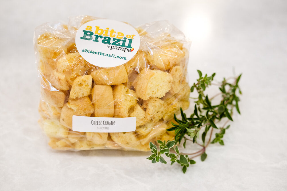 Cheese Croutons (GF)
