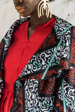 Load image into Gallery viewer, EZOKHETHO BASOTHO KIMONO MULTI-COLOUR