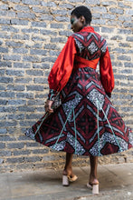 Load image into Gallery viewer, EZOKHETHO THE ZOE COAT DRESS MULTI-COLOUR