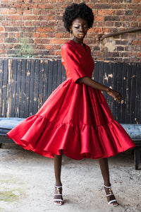 EZOKHETHO ULUTHANDO RED DRESS