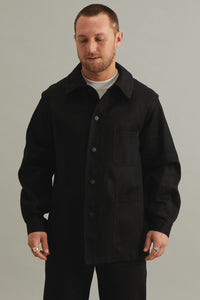 GOOD GOOD GOOD WORK WEAR JACKET - BLACK