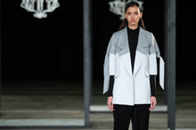 Load image into Gallery viewer, CINDY MFABE LUTHANDO BLOCK TAILORED JACKET