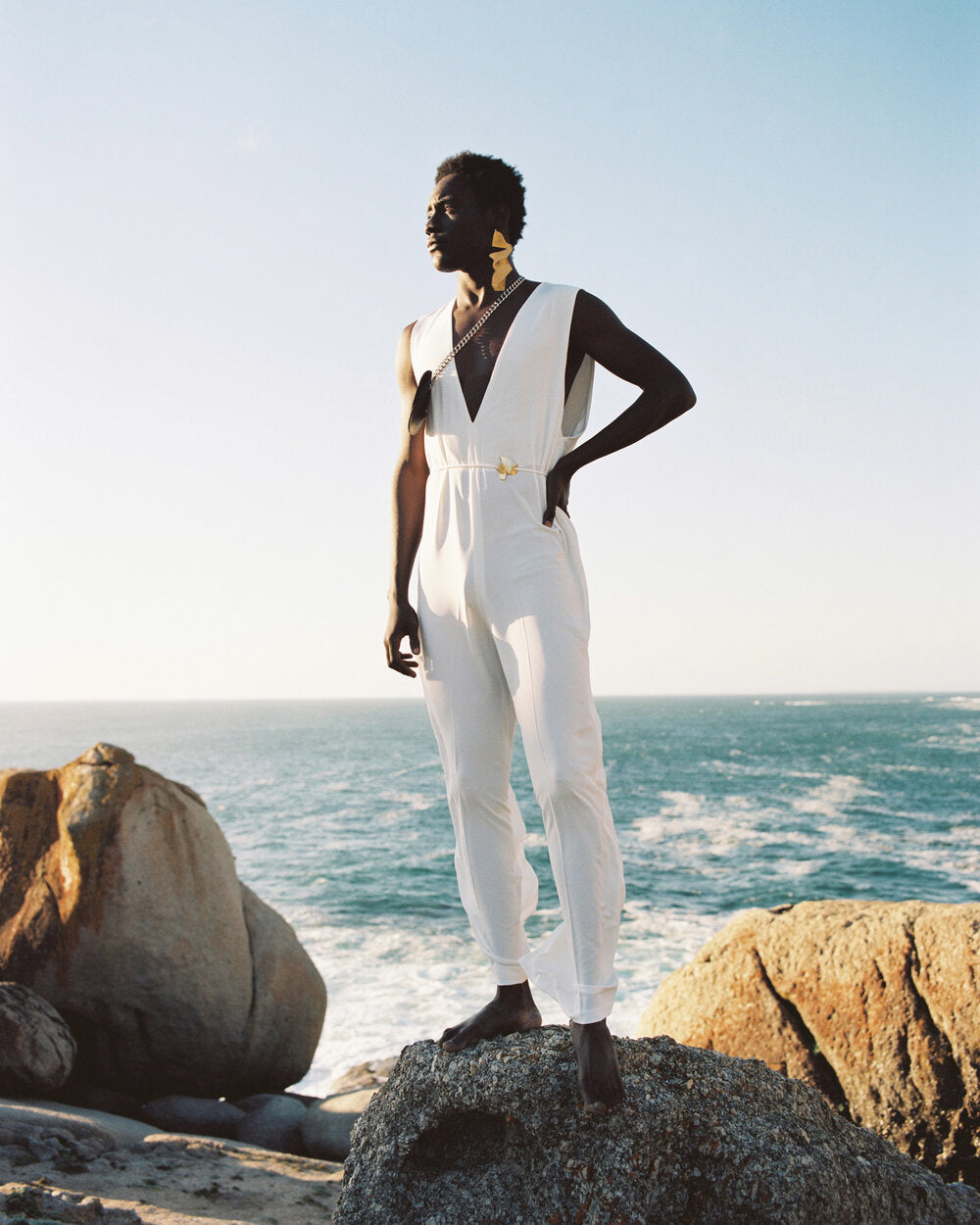 RICH MNISI PURITY JUMPSUIT