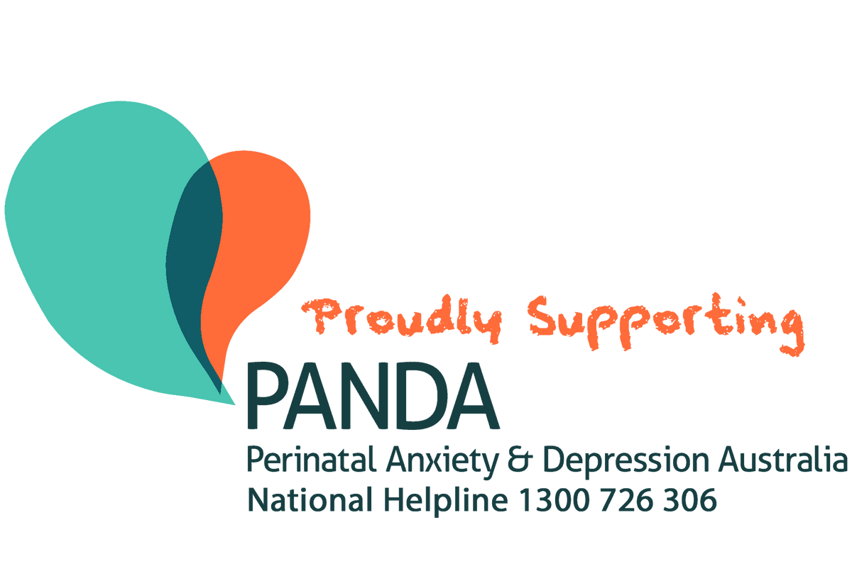 Proudly supporting PANDA Perinatal Anxiety and Depression Australia