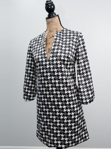 The Avery Dress~Houndstooth