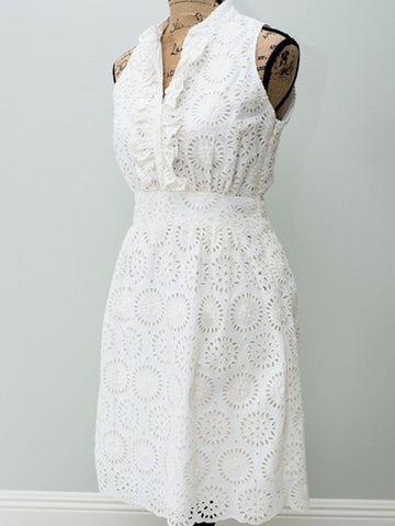 The Harper Dress~Vintage Eyelet