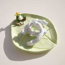 Load image into Gallery viewer, Frog Trinket Dish - Flower Hat