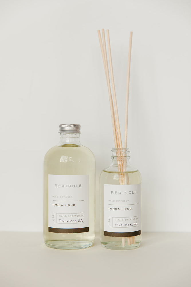 Load image into Gallery viewer, Tonka + Oud Reed Diffuser
