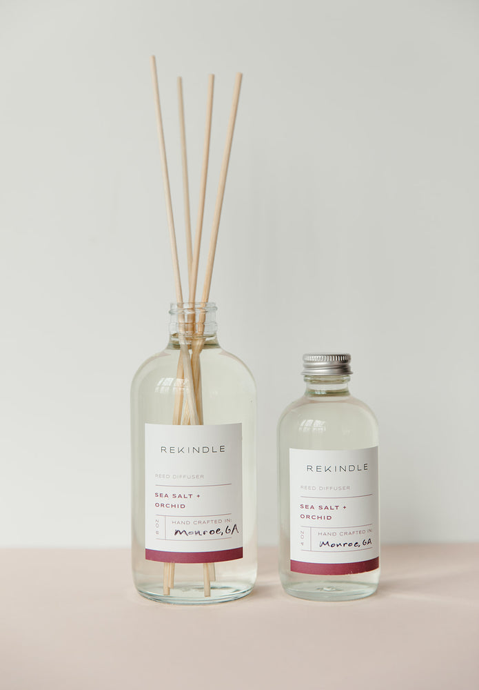 Sea Salt + Orchid Reed Diffuser