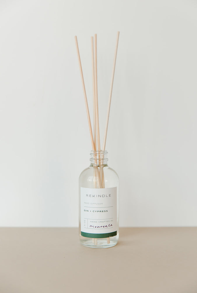 Load image into Gallery viewer, Gin + Cypress Reed Diffuser
