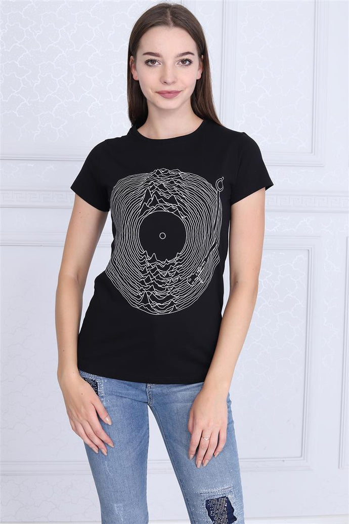 Black Joy Division Album Printed Cotton T-shirt Tee Top Timya Wholesale S-Ponder