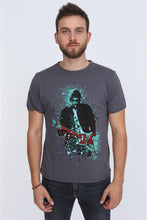 Load image into Gallery viewer, Grey Anthracite Kurt Cobain Printed Cotton T-Shirt Tee Top Timya Wholesale S-Ponder