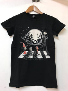 Black Nightmare before the Christmas Cotton Kids Junior Child T-shirt Tee Top Timya Wholesale S-Ponder