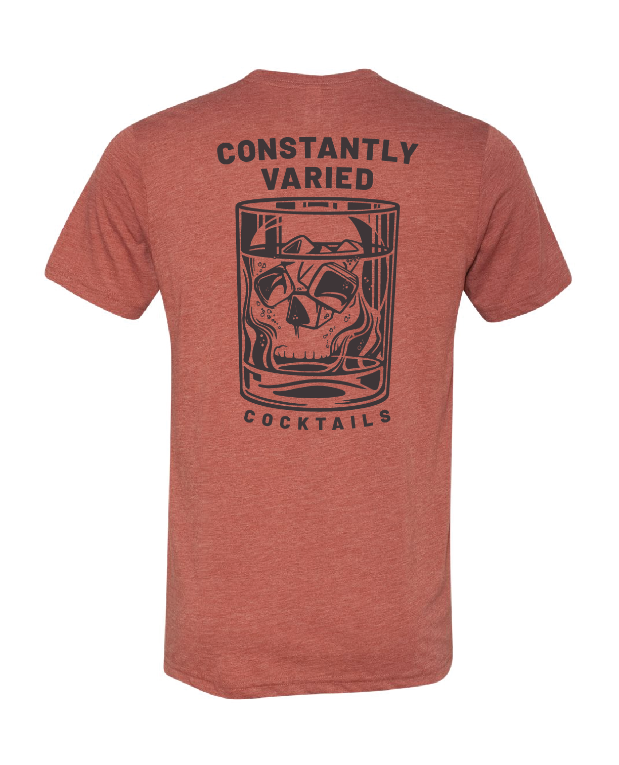 Constantly Varied Cocktails Tee