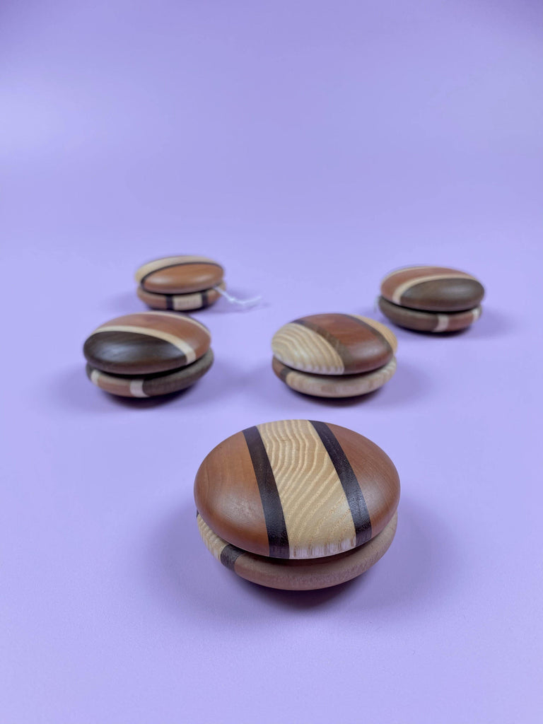 Wooden Yoyo - Light Lion